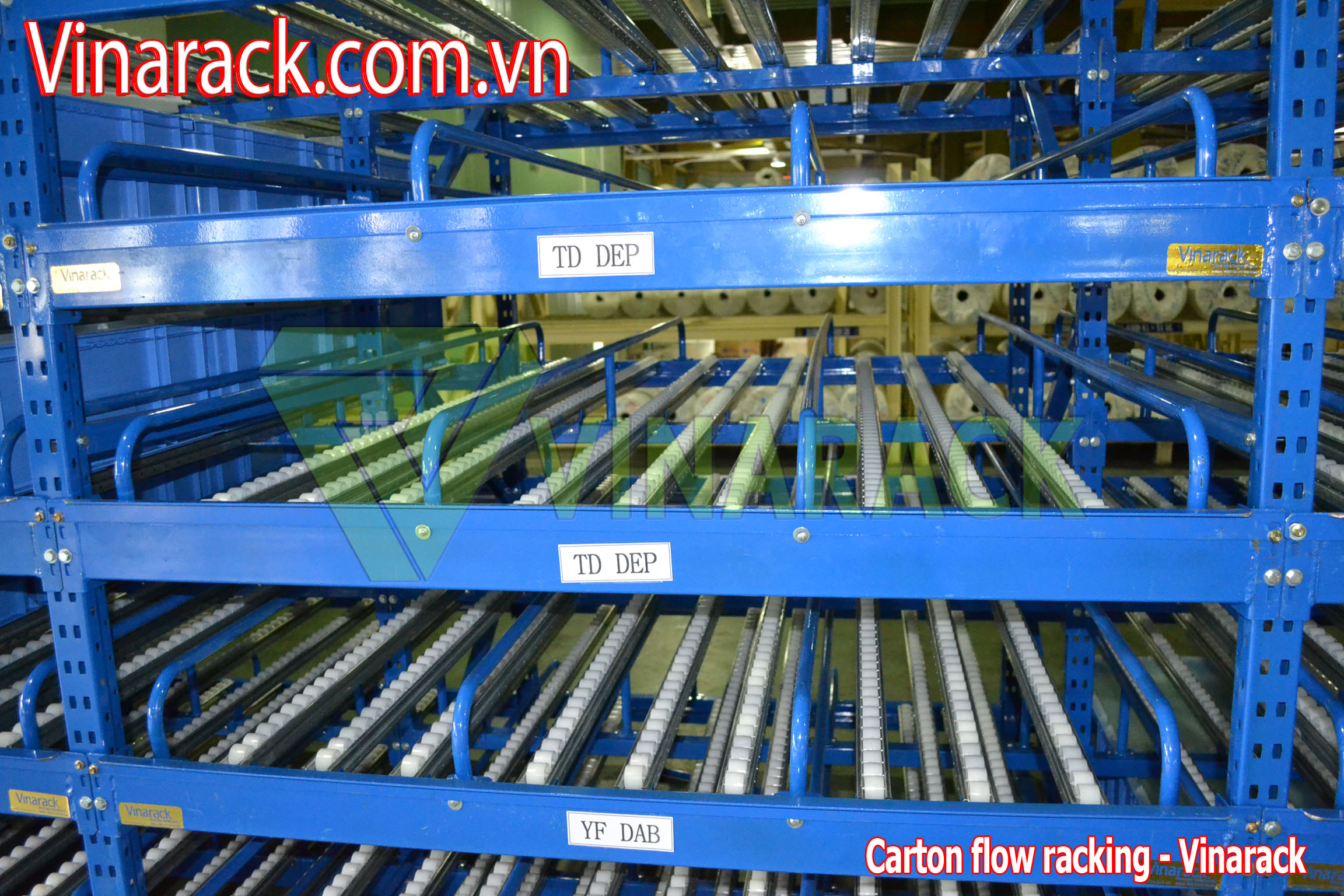 carton flow rack