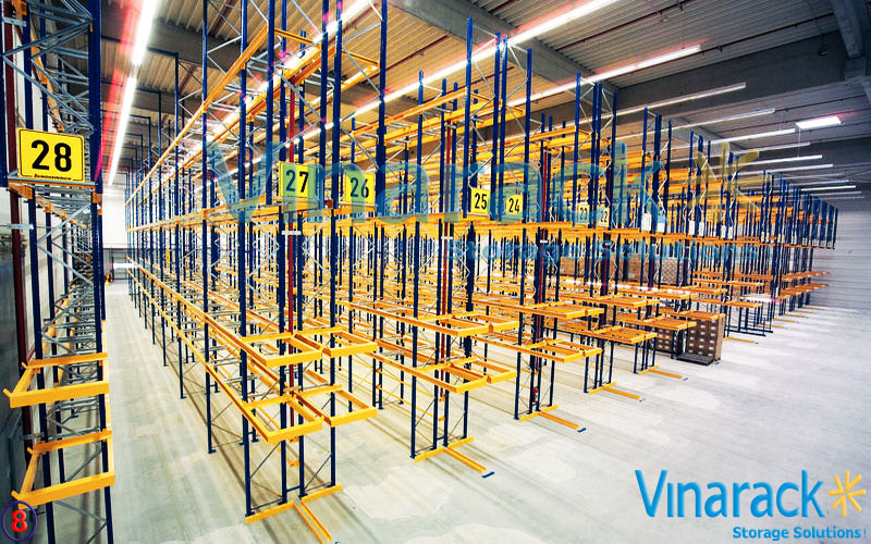 Very Narrow Aisle Racking (VNA)